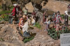 Cuenca, Ecuador - January 3, 2019 - Largest animated nativity scene in South America.