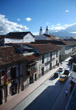 Cuenca, Ekwador obrazy stock