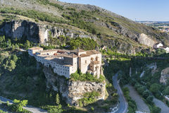 Cuenca Espagne, couvent de San Pablo photo libre de droits