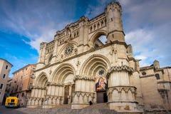 Cuenca, La Mancha, España, catedral del Castile Fotos de archivo
