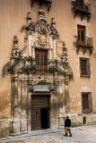 Cuenca, La Mancha, España, Convento de la Merced del Castile Foto de archivo