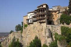 Cuenca - La Mancha - Spanien Royaltyfria Bilder
