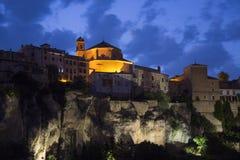 Cuenca - La Mancha - Spanien Royaltyfri Fotografi