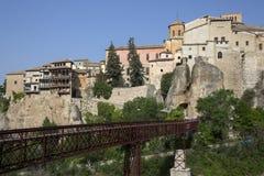 Cuenca - La Mancha - Spanien Royaltyfri Foto