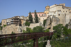 Cuenca - La Mancha - Spanien Lizenzfreies Stockfoto