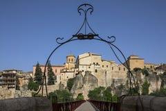 Cuenca - La Mancha - Spanien Arkivfoton