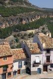 Cuenca - La Mancha - Spanien Fotografering för Bildbyråer