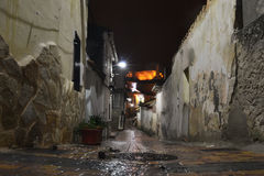 Cuenca Night Royalty Free Stock Photography