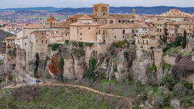 Cuenca old town Stock Image