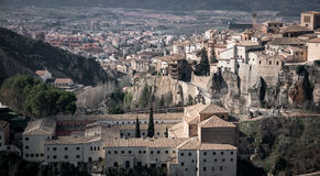 Cuenca old town with San Pablo convent Stock Image