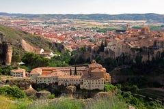 Cuenca panoramic view Royalty Free Stock Photos