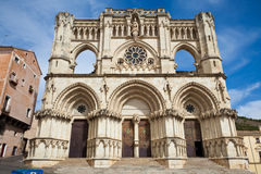 Cuenca's Cathedral Stock Photography