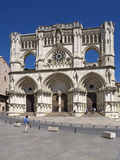 The Cuenca's cathedral. In Spain Royalty Free Stock Photo