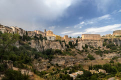 Cuenca Skyline Royalty Free Stock Images