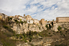 Cuenca skyline, Spain royalty free stock photography