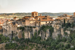 Cuenca Spain, casas colgadas Royalty Free Stock Photos