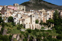 Cuenca, Spain: View of Ancient City Royalty Free Stock Photography