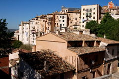 Cuenca, Spain: View of Centuries-old Houses Stock Image