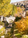 Cuenca spanien Stockbild