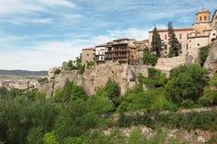 Cuenca stad in Castilla La Mancha Royalty-vrije Stock Foto's