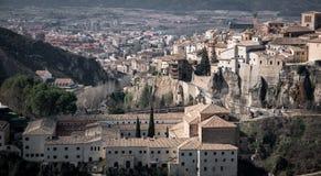 Cuenca stary miasteczko z San Pablo klasztorem Obraz Stock