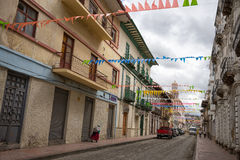Cuenca street view Stock Images