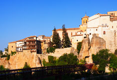 Cuenca in sunny morning Royalty Free Stock Image