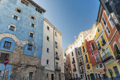 Cuenca & x28; Spain& x29; , rua Imagens de Stock