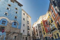 Cuenca y x28; Spain& x29; , calle Imagenes de archivo