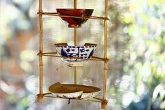 Cuenco chino de la porcelana Imagenes de archivo