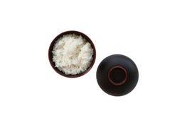 Cuenco de arroz. Fotos de archivo
