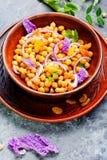 Cuenco de ensalada del vegano Imagen de archivo