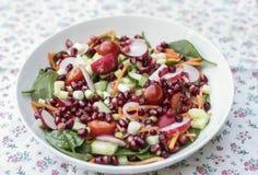 Cuenco de ensalada de Superfood imagen de archivo