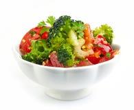 Cuenco de ensalada vegetal foto de archivo libre de regalías
