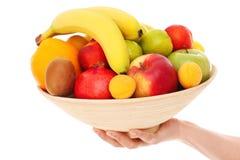 Cuenco de frutas Imagen de archivo libre de regalías