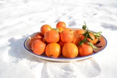 Cuenco de frutas Foto de archivo libre de regalías