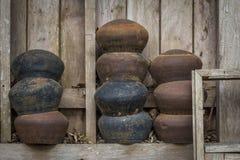 Cuenco de las limosnas del monje s foto de archivo libre de regalías