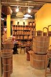 Cuenco de madera Fotos de archivo libres de regalías