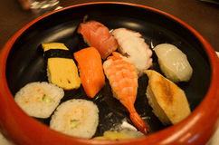 Cuenco de sushi Foto de archivo