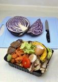 Cuenco inútil de la cocina Foto de archivo libre de regalías