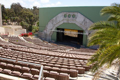 Cuenco San Diego California de la luz de las estrellas Imagen de archivo