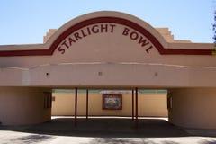 Cuenco San Diego California de la luz de las estrellas Imagen de archivo libre de regalías