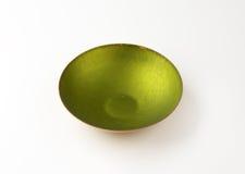 Cuenco verde foto de archivo libre de regalías
