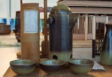 Cuencos de cerámica orientales Imagen de archivo libre de regalías