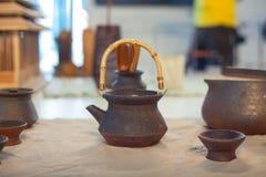 Cuencos de cerámica orientales Fotografía de archivo libre de regalías