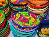 Cuencos mexicanos Imagen de archivo libre de regalías