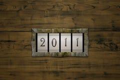 Cuenta 2011 Imagen de archivo