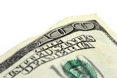 cuenta de dólar 100 Imagen de archivo libre de regalías