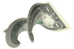 Cuenta de dólar Imágenes de archivo libres de regalías