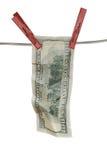 cuenta de dólar 100 Fotografía de archivo libre de regalías
